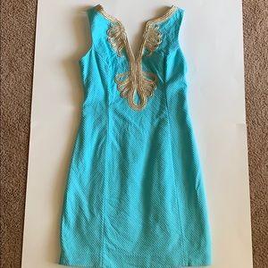 Lilly Pulitzer Janice shift dress. Size 2.